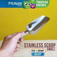 Serokan Es Batu Stainless Kecil Sendok Kopi Ice Scoop - Small 150ml