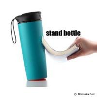 * Mighty Mug Tumbler Botol Minum Termos Anti Tumpah Senggol (H331)