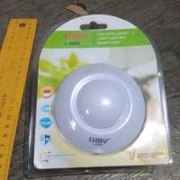 DISKONGILA lampu tidur malam sensor cahaya otomatis home furniture