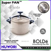 Panci Presto Super Pan 7L BOLDe Granite Coating - Original home stuff
