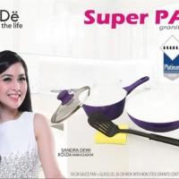 Super PAN Keramik set Purple Original BOLDe 5 pcs home furniture