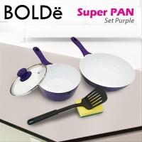 BOLDe Super PAN Set Panci 5Pcs Purple home equipment