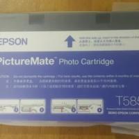 Ink cartridge tinta kartrid original epson pictureMate T5852 New