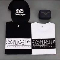 T shirt EXO Planet - Kaos EXO Planet Pendek