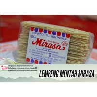 Krupuk PULI/ LEMPENG MIRASA mentah asli Jawa Timur (isi banyak)