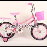 Sepeda Anak Perempuan Mini Evergreen 16 Sepeda Anak Cewek Roda Empat