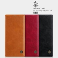 Flip Cover Nillkin QIN Samsung Galaxy Note 10 Plus Leather Case Casing