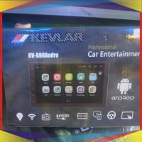 Head Unit Android Kevlar   Os Android 8.1   Double Din Audio Mobil