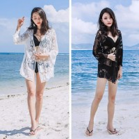 SUNFLOWER OUTER bikini outer boho dress pantai cardigan kimono murah