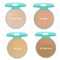 wardah luminous refil two way cake
