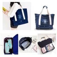 Korea Travel Iconic Bag / Tas Shoulder Import / Tas Gym/Travel Bag