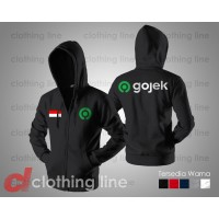 JAKET SWEATER HOODIE GOJEK GO JEK INDONESIA EXCLUSIVE