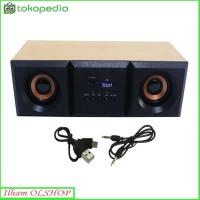 Speaker FLECO F30 Digital Audio BASS Komputer/Laptop F-30 XTRA POWER