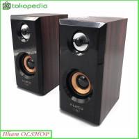 Speaker FLECO F-017 Speaker Komputer / Laptop / Handphone