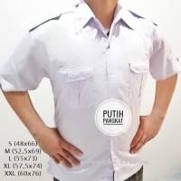 Seragam PNS Pria Kemeja Putih Baju PNS PDH Putih Kemeja Putih Pria