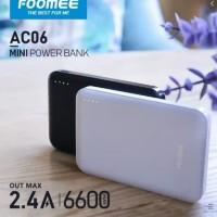 POWER BANK FOOMEE AC06 6600mah