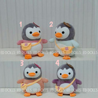BONEKA PENGUIN WITH BAG PLUSH TOY