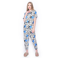 MOSIRU Piyama Wanita Setelan Baju Tidur Pajamas CP 101G