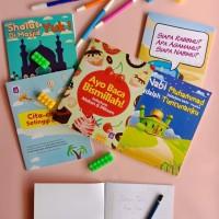 Pack A Buku Tulis Anak Islami Sholeh dan Sholehah Sunny Grafika