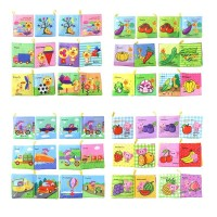 Infant Baby Early Cognitive Development Early Education Cloth Books