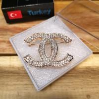 Bros Mewah Impor Aksesoris Asli Turki Anti Karat - CHN1 Rose Gold