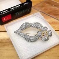 Bros Mewah Impor Aksesoris Asli Turki Anti Karat - CHN5 Gold