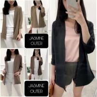 Jasmine Outer/Blouse Wanita Fashion Blus Tangan Panjang Gaya Korea