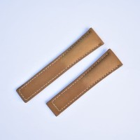 TAG 22mm Leather Strap Watch Band