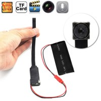 AI Kamera CCTV/Pengintai Mini dgn WiFi IP   Pendeteksi Gerakan DIY