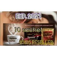 Kopi Dynamic isi 10 Sachet | Coffee Dynamic | Kopi DDN | Tribulus