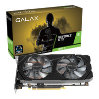 Galax Geforce GTX 1660 (1-Click OC) - DUAL FAN 6 GB 192 Bit GDDR6