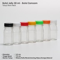 Botol Plastik 50 ml PET Botol Plastik 50 ml Jelly Botol Zam Zam