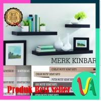 Rak Dinding Melayang Floating Shelf MERK KINBAR A396 rakdinding minima