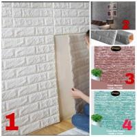 Wallpaper Foam Luxury 3D Brick 70CM x 77CM