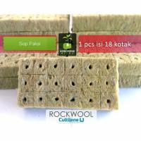Rockwool Hidroponik merk cultilene Siap Pakai PROMO minimum beli 4 pcs