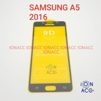 TEMPERED GLASS FULL HD SAMSUNG A5 2016 A510 ANTI GORES KACA