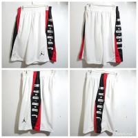 Celana Basket Nike Jordan TAKE OVER PUTIH - MERAH HITAM GRADE ORIGINA