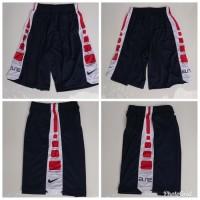 Celana Basket Nike Elite Training DONGKER - Merah Putih Grade Origina
