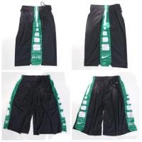 Celana Basket Nike Elite Training HITAM -HIJAU PUTIH Grade Original