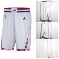 Celana Basket NBA ALLSTAR 2019 Jordan PUTIH Kualitas Grade original -