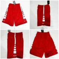promo Celana Basket Nike Stripe Merah Putih Limited