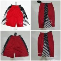 promo Celana Basket Nike Elite Power Up Merah -Hitam -putih Diskon