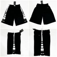 promo Celana Basket Nike Elite Stripe Hitam - Putih 2 Limited