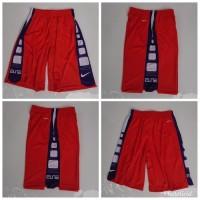 Celana Basket Nike Elite Training ORANGE - Biru Putih Grade Original