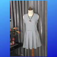 Cavalier Mini Dress Gaun Mini Preloved Casual Kasual