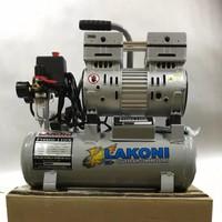 Lakoni fresco 110 compressor silent oiless kompresor spray gun