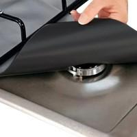Urijk 2PCs Cooker Protector Kitchen Heat Resistant Gas Burner Washable