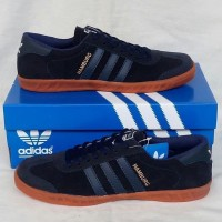 Sepatu Pria Sepatu Adidas Hamburg Navy Sepatu Cowok Murah