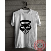 Kaos marvel baju the guardian of the galaxy rocket racoon tshirt
