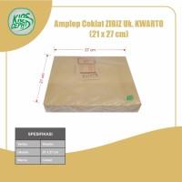 Amplop Coklat Ukuran Kwarto (1Pack Isi 100pcs)